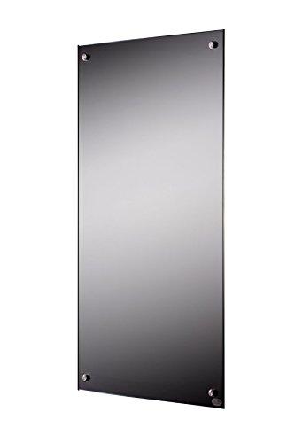 FERN INFRAROT SPIEGELHEIZUNG (neueste Technologie) 300W Spiegel Heizung auf Carbon Crystal Basis mit höchsten Sicherheitsstandards (CE, ROHS), 50 Jahre/100.000Std Lebensdauer und 99% Heizübertragung