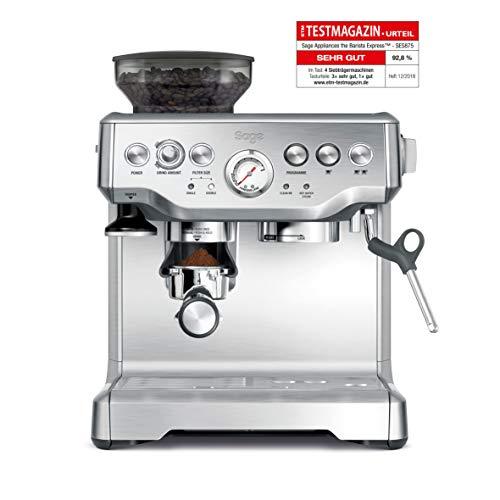 Sage Barista Espresso-Maschine-Test: Eine hochwertige Espresso-Maschine